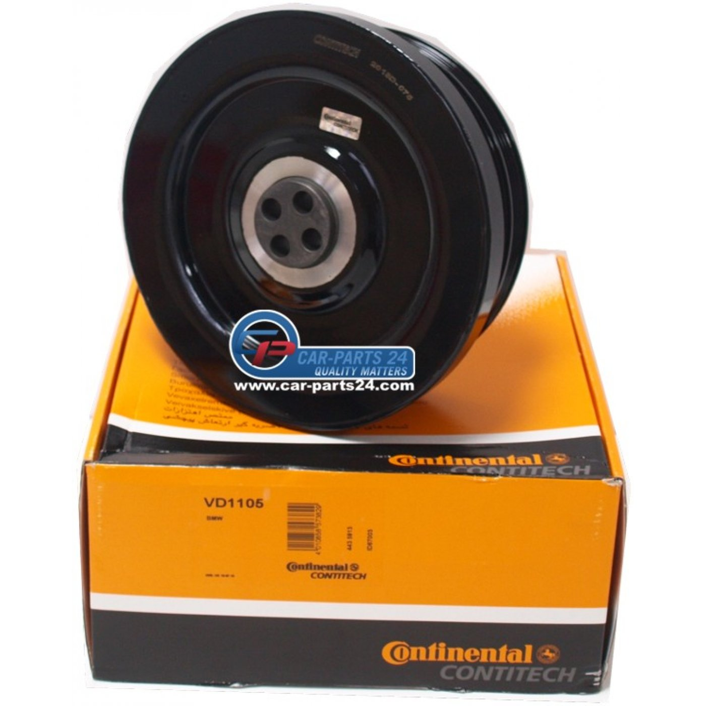 Contitech Vd1105 Crankshaft Belt Pulley Vibration Damper